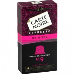 Nespresso compatible capsules ® - Capsules Carte Noire 9