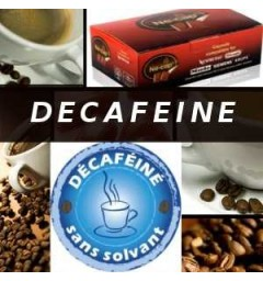 Decaf coffee capsules for Nespresso ® compatible