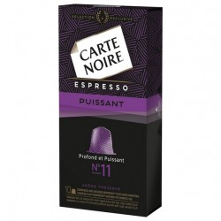 N°11 Carte Noire capsules, Compatible with Nespresso ®.