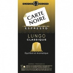 Carte Noire N°3 – 10 capsules compatibles Nespresso®