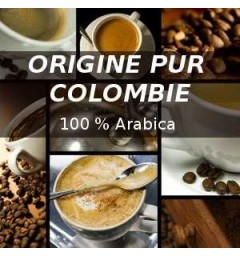 Colombia coffee capsules compatible Nespresso ®