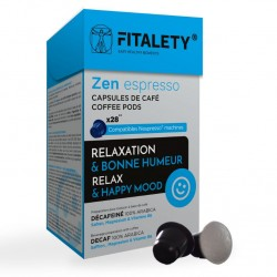Fitalety deca Zen compatible Nespresso ® Pack 14 days