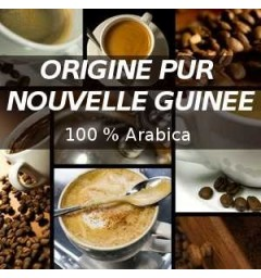 New Guinea coffee for Nespresso ® capsules compatible