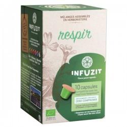Infuzit Respir Nespresso ® compatible capsules