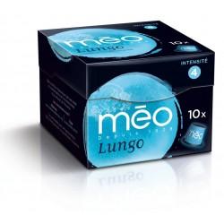 Capsules Méo Lungo compatibles Nespresso®