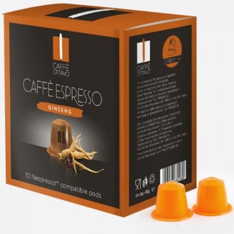 Caffè Ottavo Ginseng compatibles Nespresso®