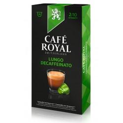 Capsules Café Royal Lungo Decaffeinato compatibles Nespresso ®