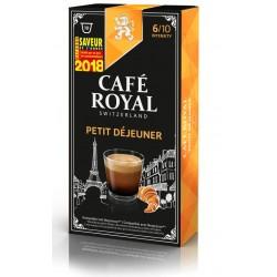 Capsules Café Royal Petit Déjeuner compatibles Nespresso ®