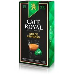 Capsules Café Royal Dolce Espresso compatibles Nespresso ®