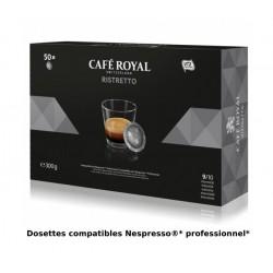 Nespresso ® PRO compatible Café Royal Ristretto capsules