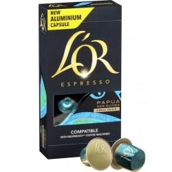 Capsules L'Or Espresso Papouasie Nouvelle-Guinée compatibles Nespresso ®