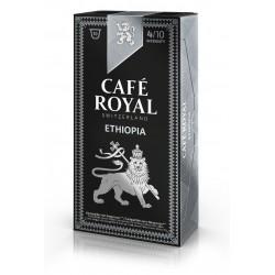 Royal Ethiopia Coffee capsules Espresso compatible Nespresso ®