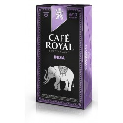 Nespresso ® compatible Royal India coffee capsules