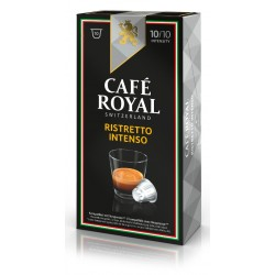 Royal Ristretto Intenso Coffee capsules compatible with Nespresso ®