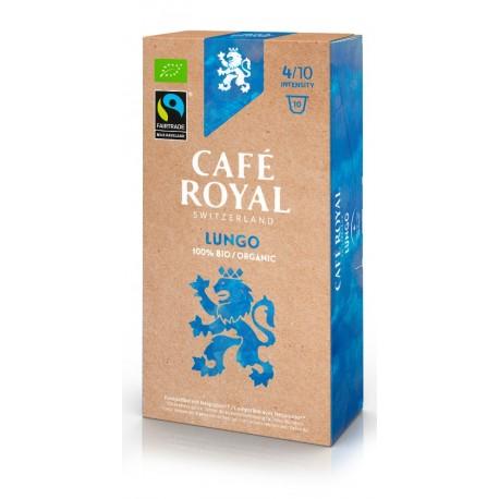 Capsules Café Royal Lungo Bio compatibles Nespresso ®