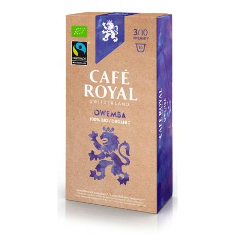 Capsules Café Royal OWENBA BIO compatibles Nespresso ®