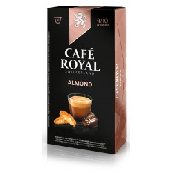 Nespresso® Almond-compatible Royal Coffee Capsules