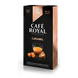 Nespresso ® compatible Royal coffee flavored caramel capsules