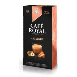 Nespresso ® compatible Royal Coffee Hazelnut Capsules