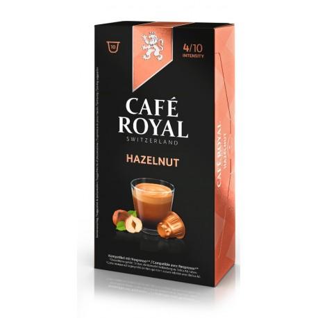 Capsules arôme noisette de Café Royal compatibles Nespresso ®