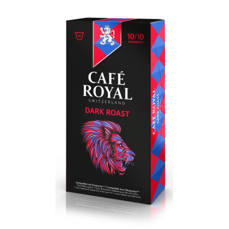 Capsules Café Royal Dark Roast compatibles Nespresso ®