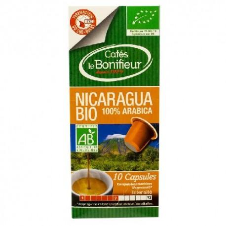 Capsules Bio Nicaragua compatibles Nespresso ® Le Bonifieur
