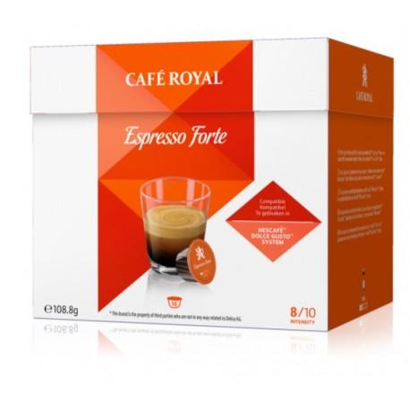 Capsules Café Royal Espresso Forte compatibles Dolce Gusto ®