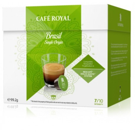 Dolce Gusto ® Compatible Royal Espresso Strong Coffee Capsules