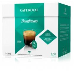 Capsules Café Royal Decaffeinato compatibles Dolce Gusto ®