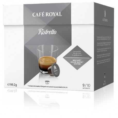 Royal Decaffeinato Coffee capsules compatible with Dolce Gusto ®