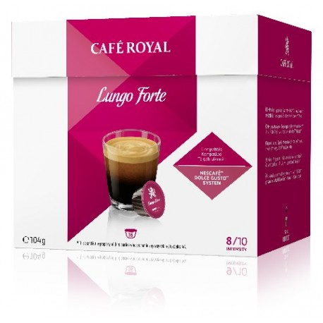 Dolce Gusto ® Compatible Royal Lungo Coffee Capsules