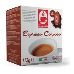 Capsules Corposo compatibles Lavazza A Modo Mio ® de chez Caffè Bonini