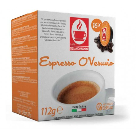 Capsules compatibles Lavazza A Modo Mio ® O'vesuvio