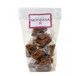 Monbana bag of salted butter caramel