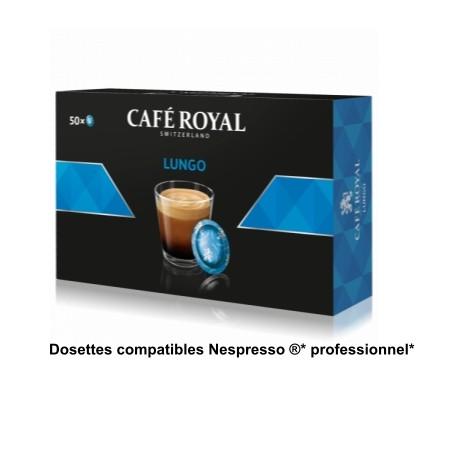 Royal Lungo coffee pods compatible Nespresso ® PRO