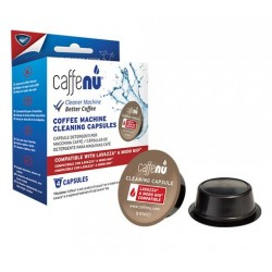 Clean Lavazza Modo Mio with Caffenu (box of 4 capsules)