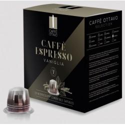 Vanilla flavoring capsules compatible Nespresso ® Caffè Ottavo