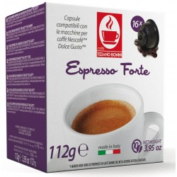 Capsules Forte compatibles Lavazza A Modo Mio ® Forte
