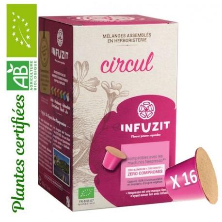Infuzit Circul, capsules compatibles Nespresso ®