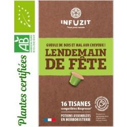 Infuzit Lendemain de fête, capsules compatibles Nespresso ®