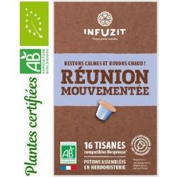 Infuzit Réunion mouvementée, capsules compatibles Nespresso ®