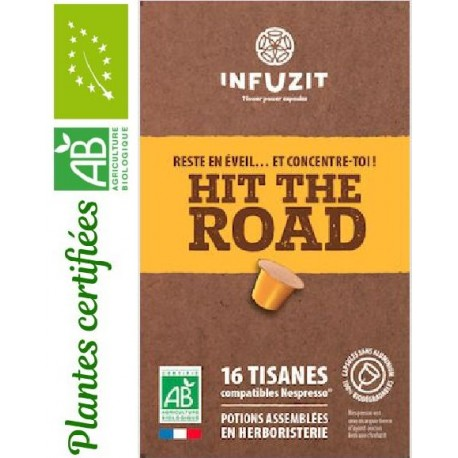 Infuzit Hit The Road, capsules compatibles Nespresso ®