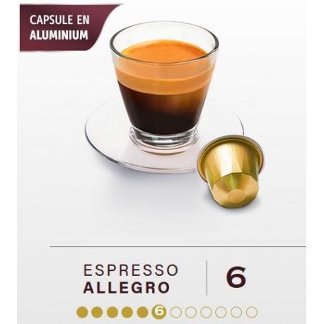 Allegro, capsules BELMIO compatibles Nespresso ®