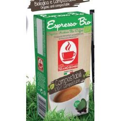 Capsules Espresso Bio compatibles Nespresso ® de Bonini