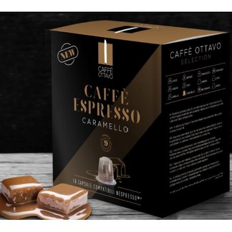 Capsules arôme Caramel compatibles Nespresso ® Caffè Ottavo