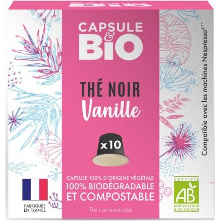 Capsules bio de Thé noir Bio compatibles Nespresso ®