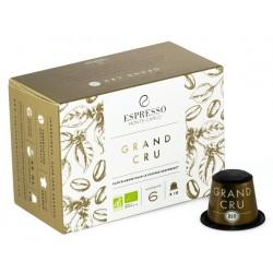 Capsules compatibles Nespresso ® Grand Cru Bio