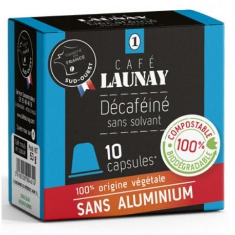 Capsules Bio, Déca compatibles Nespresso des Café Launay