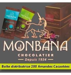 200 amandes cacaotées