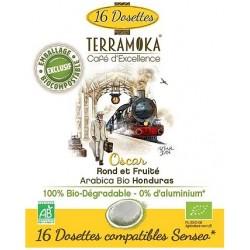 Oscar compatible pods Senseo ® Terramoka organic coffee